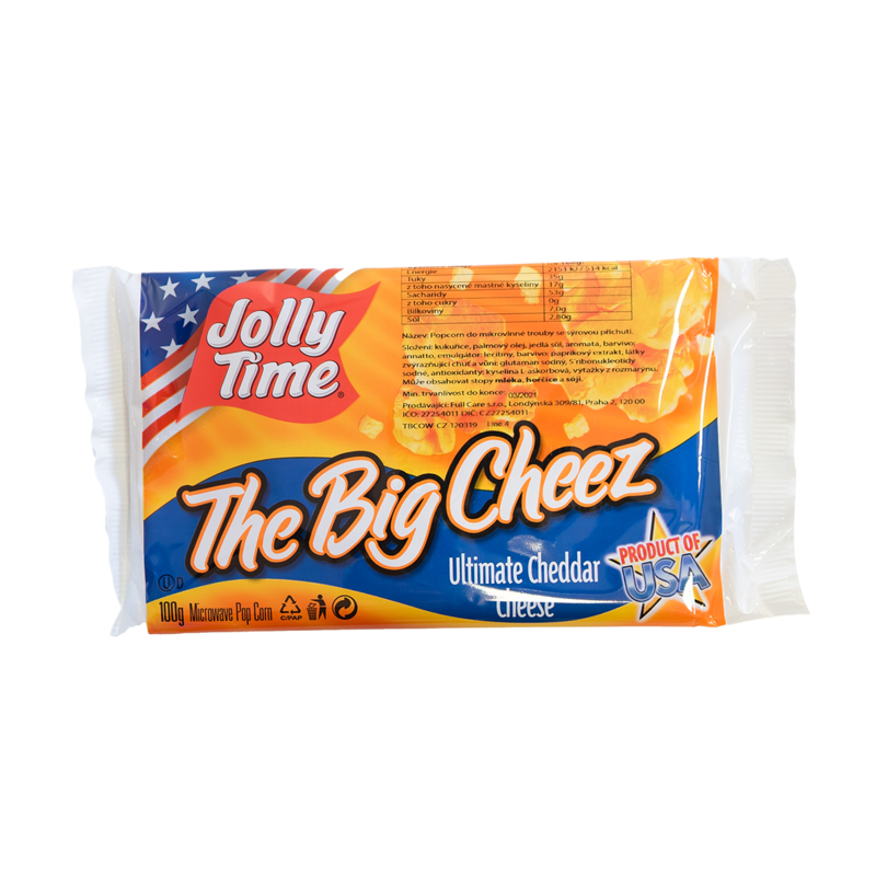 Sýrový popcorn The Big cheez 100g