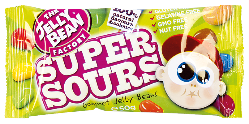 Jelly Bean super kyselé 50g