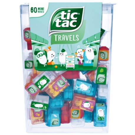 Tic Tac Travel 228g (60 mini boxů)