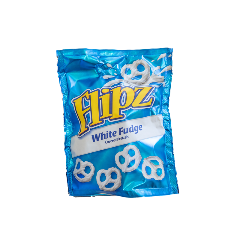 Flipz white fudge 100g