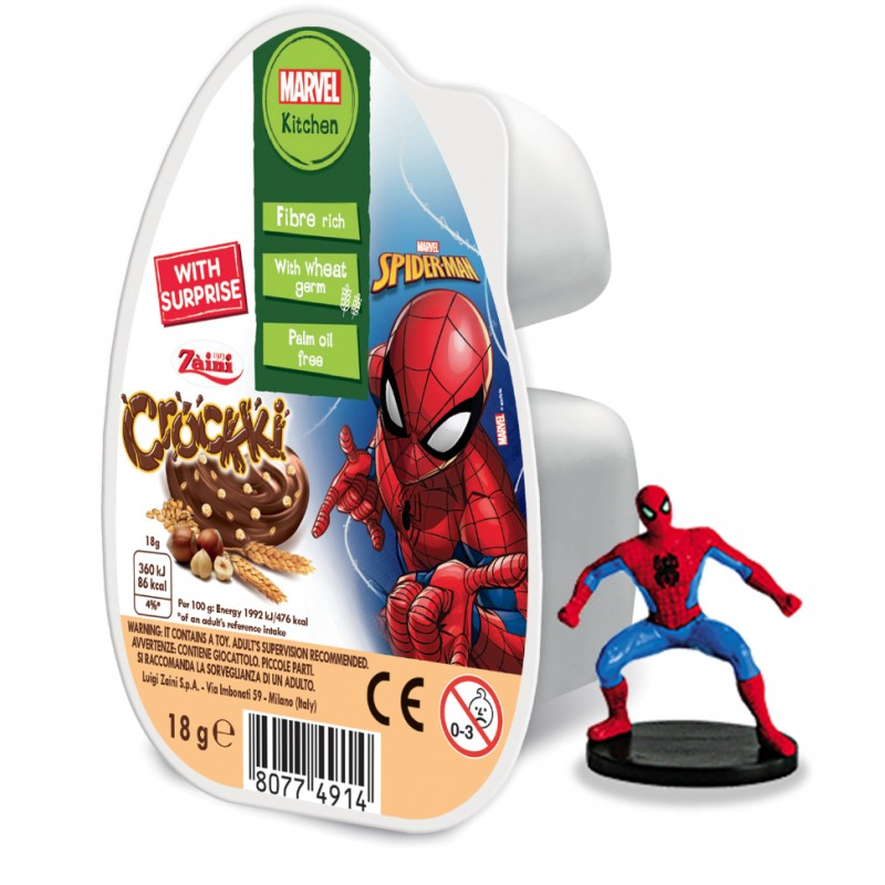Spiderman Crockki Spread 18g