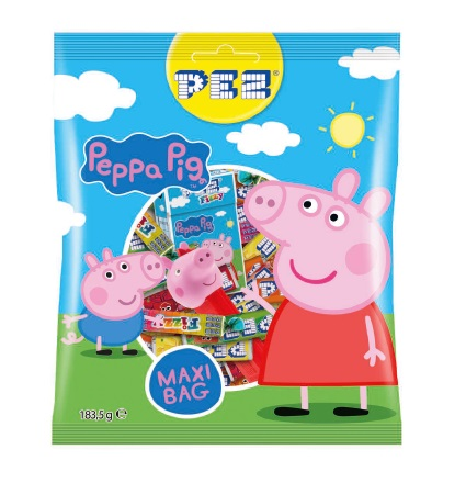 Peppa Pig Maxi Bag PEZ 183g